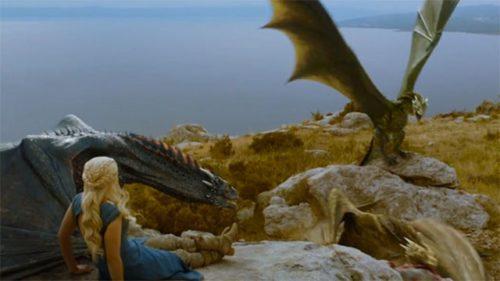 Three Dragons Game of Thrones Costume