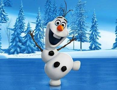 Frozen Olaf Snowman Kids Costume
