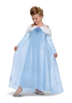 Frozen - Elsa Kids Costume - Prestige
