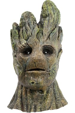 Guardians of the Galaxy Adult Groot Costume Mask Cosplay