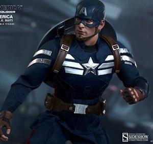 Captain America Kids Stealth Suit Costume