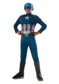 Captain America Kids Costume - Civil War