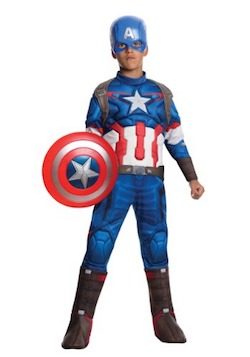 Captain America Kids Costume - Avengers