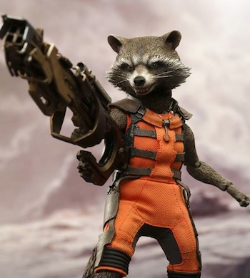 Guardians of the Galaxy - Rocket Raccoon Costume