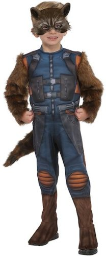 Toddler Rocket Raccoon Costume Guardians of the Galaxy