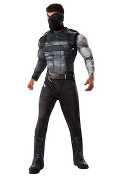 Captain America Adult Winter Soldier Costume