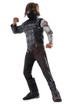 Captain America Kids Winter Soldier Costume