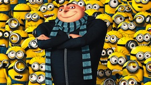 Despicable Me Minion Costumes for whole famiily