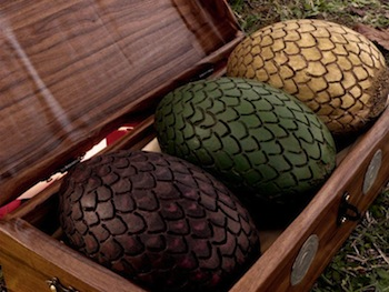 Game of Thrones Daenerys Dragon Eggs Props