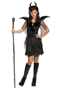 Tweens Deluxe Maleficent Costume