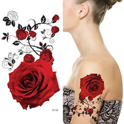 Alex Vause Rose Tattoo