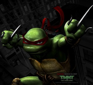 Teenage Mutant Ninja turtles - Adult Raphael Costume