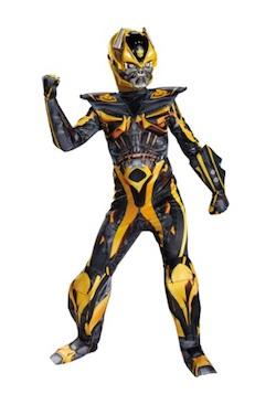 Boys Transformers Bumblebee Deluxe Costume