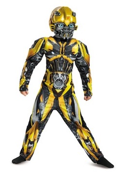 Boys Transformers Bumblebee Classic Costume