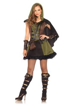 Adult Women Robin Hood Costume