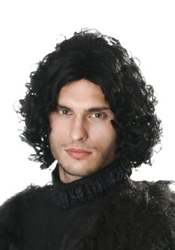 Game of Thrones Jon Snow Dark Hair Wig