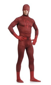 Adult Deluxe Daredevil Double D Costume