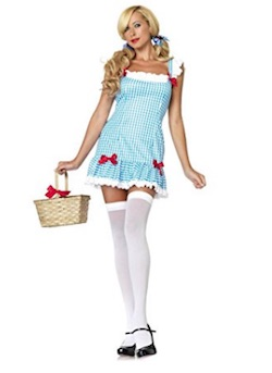 Wizard of Oz Sexy Dorothy Costume for Adults
