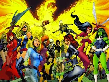 Female Marvel Superheroes Costume