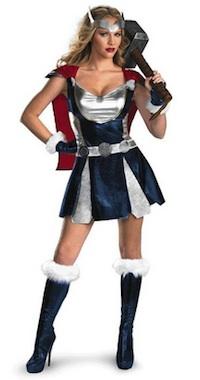 Marvel Womens' Thor Costume