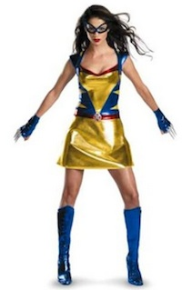 Adult Womens Wolverine Costume