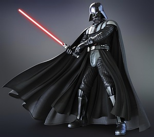Star Wars Mens Adult Darth Vader Costume