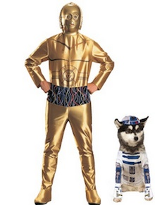 Costume Ideas for You and Your Dog-star wars