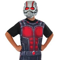 Child's Ant Man Shirt and Mask Costume