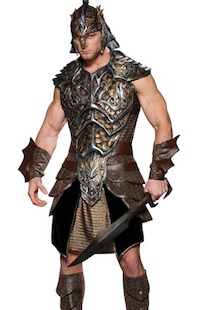 Dragon Lord Warrior Costumes for Men
