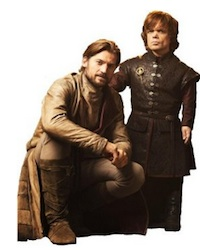 Game of Thrones Jaime and Tyrion Lannister Life Size Standup Poster