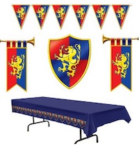 Game of Thrones Party Decor Medieval Flag Banner