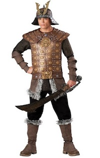 Genghis Khan Samurai Warrior Costume