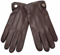Jaime Lannister Brown Leather Gloves
