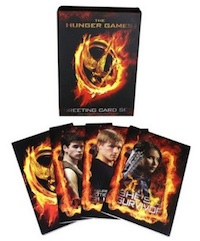 Hunger Games Party Supplies Greeting Cards