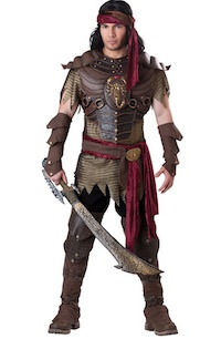 Mens Scorpion Warrior Costume