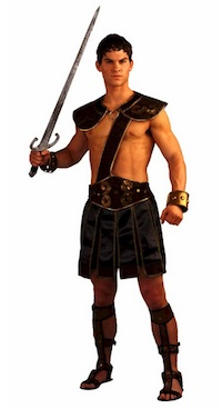 Spartacus Warrior Costume for Men