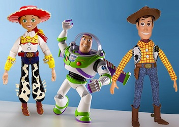 Baby Toy Story Costumes - Buzz, jessie, Woody