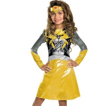 Best Bumblebee transformer Costume for girls