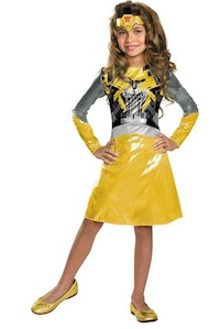 Bumblebee Transformers Costume for Girls