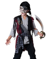 Child Pirate Costume - Best Halloween Costumes