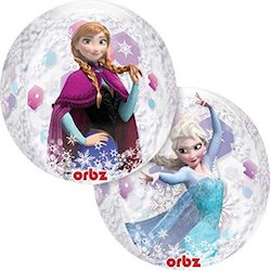Frozen Party Balloons - elsa anna
