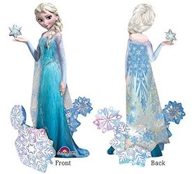 Frozen Party Balloons - elsa