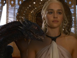 Game of Thrones Couple Costumes Daenerys Targaryen and Dragons