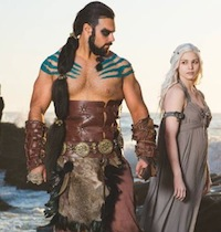 Game of Thrones Couple Costumes Khal Drogo and Daenerys Targaryen