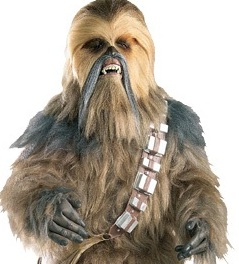 Star Wars Cosplay Chewbacca Costume
