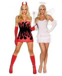 Angel Devil Costumes for Women