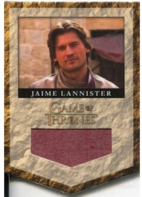Jamie Lannister Relic Trading Card