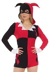 Halloween Costumes Harley Quinn Romper