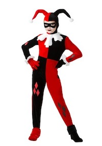Harley Quinn Jester costume for kids