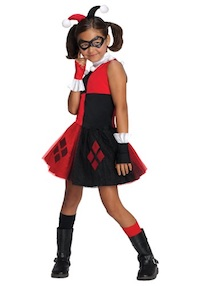 Harley Quinn Costume for kids tutu